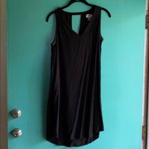 Light and flowy black dress